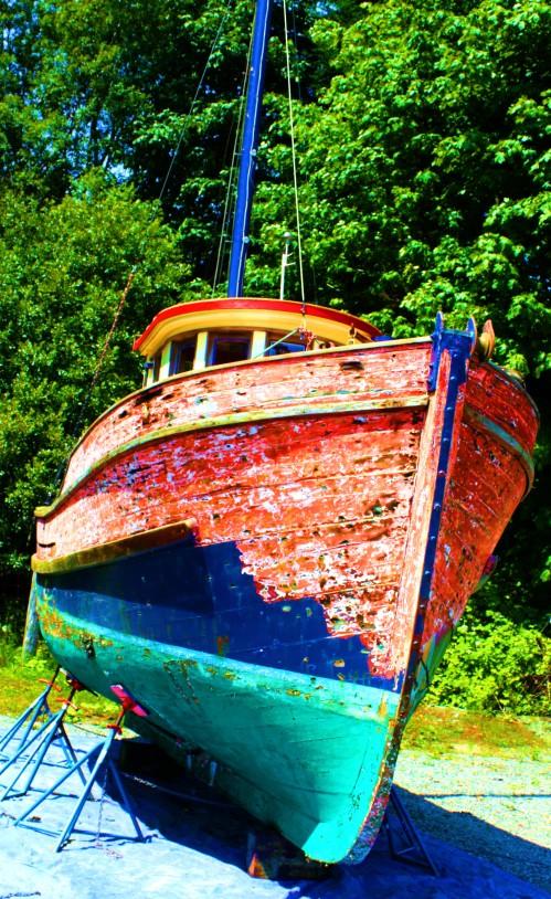 Jame's boat