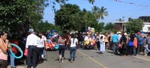 Roadblock in Quente Ellano