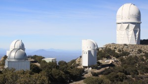Some of the telescopes at Kitt Peak