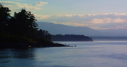 Pilot Bay afternoon, Gabriola Island