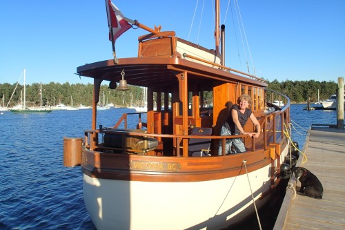 Fifer Lady, one beautiful old boat