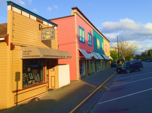 Sunset on Main Street Ladysmith