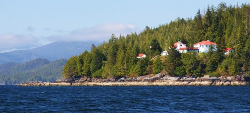 Addenbroke Light Station Fitz Hugh Sound
