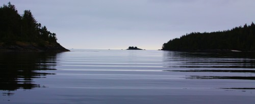 Morning, Beaver Harbour near Port Hardy