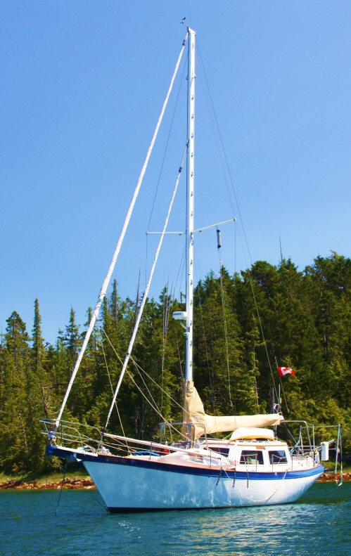 One Sheet Hung Low Seafire in Kynumpt Harbour