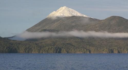 Mount Buxton, Calvert Island.