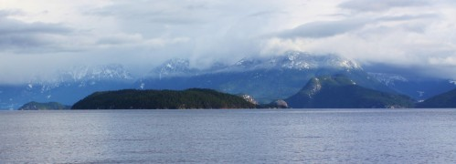 Desolation Sound. A moment of sunshine and not a yuppy yachter in sight.