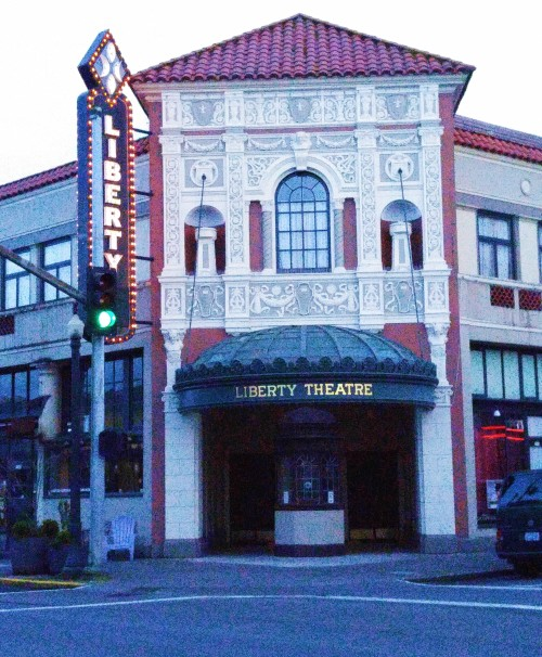 The Liberty Theatre a lovingly restored relic of the 20s and 30s It is gorgeous inside