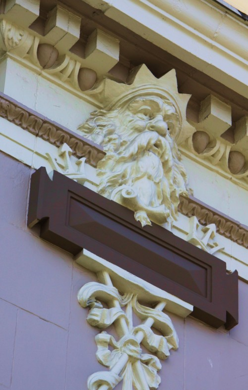 Old Neptune looks down in Victoria Harbour. I wonder how many folks notice him.