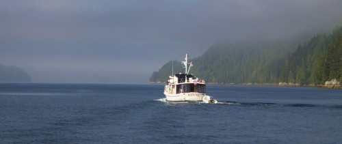 'Bennu' turns into the Burdwoods. These are a group of islands within the Broughton Archipelago