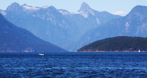 Desolation Sound, as named by Captain Vancouver. It is anything but desolate, filled with white plastic yachts throughout the summer months.