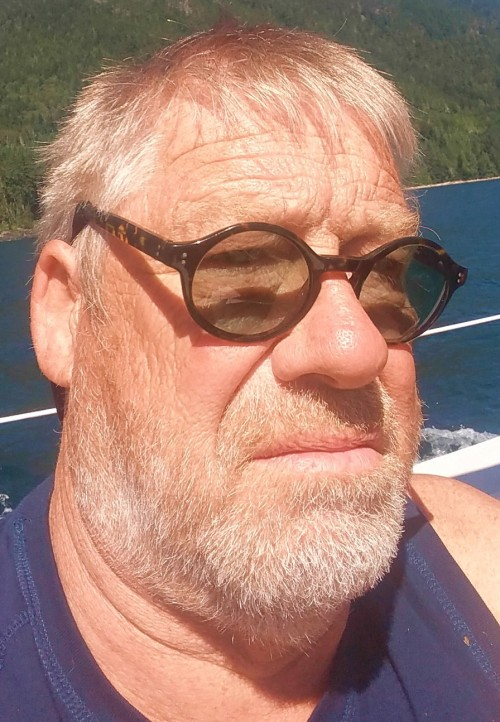 "A Sailor Selfie. Johnstone Strait. ""Living the dream."""