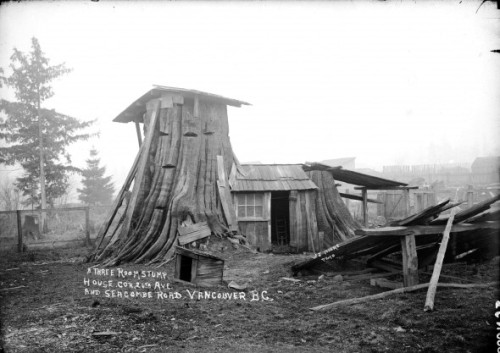 Vancouver Housing Crisis-100 years ago. Downloaded fro the archives of www.vancouverisawesome.com